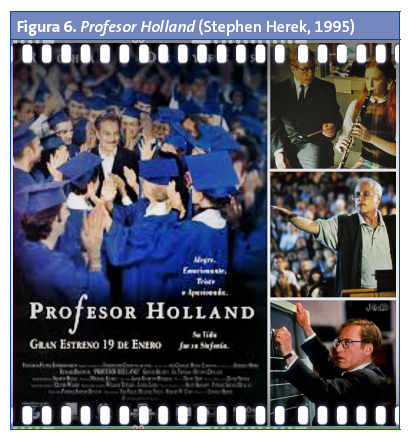 Figura 6. Profesor Holland (Stephen Herek, 1995)